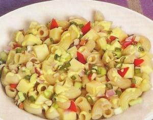 para los almuerzos receta ensalada de coditos con maiz