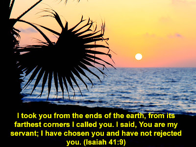 Isaiah 41:9 Nature Background