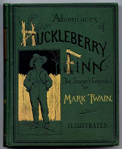 the controversy surrounding mark twains novel the adventures of huckleberry finn Just as the novel looks back on a world that was decades re  mark twain wrote  adventures of huckleberry finn nearly twenty years  the fact that each of them  has aroused controversy is a sign that some disapprove of the.