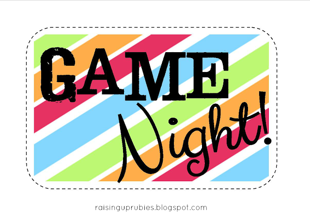 Raising Up Rubies Blog Game Night In A Bucket