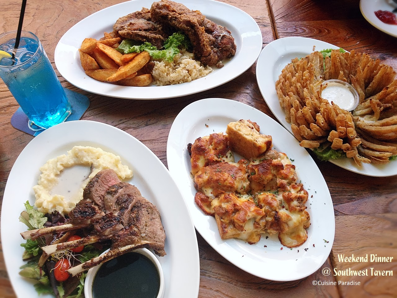 Cuisine paradise singapore food blog recipes reviews and travel weekend dinner southwest tavern tradehub 21 forumfinder Image collections