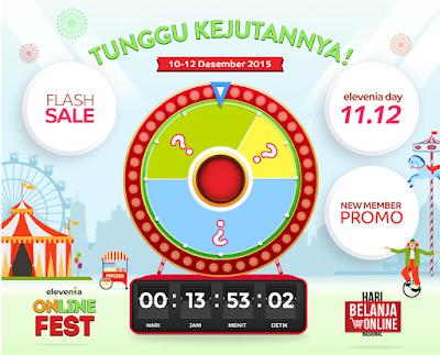 Online Fest bersama elevenia