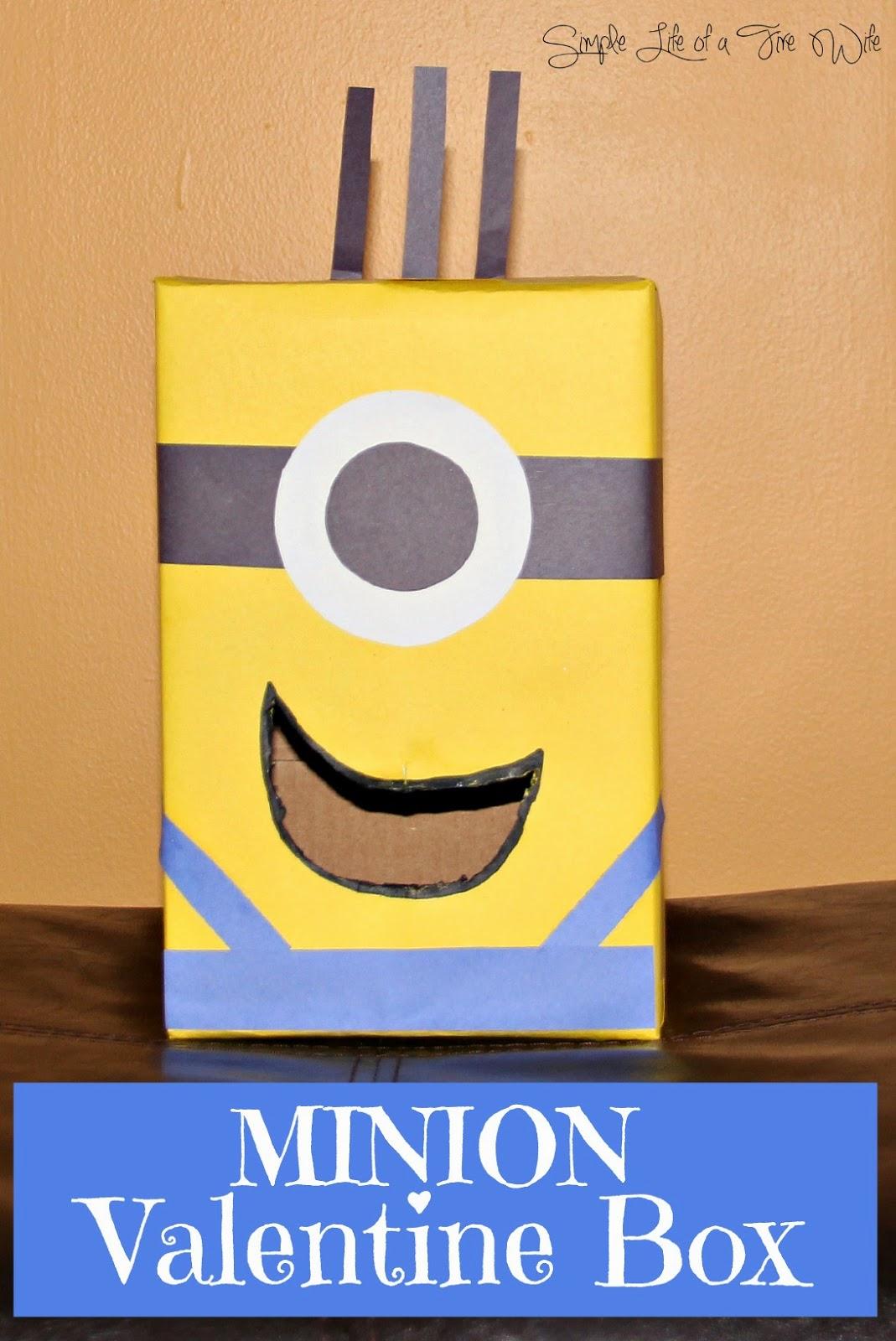 Perfekt Minion Valentine Box