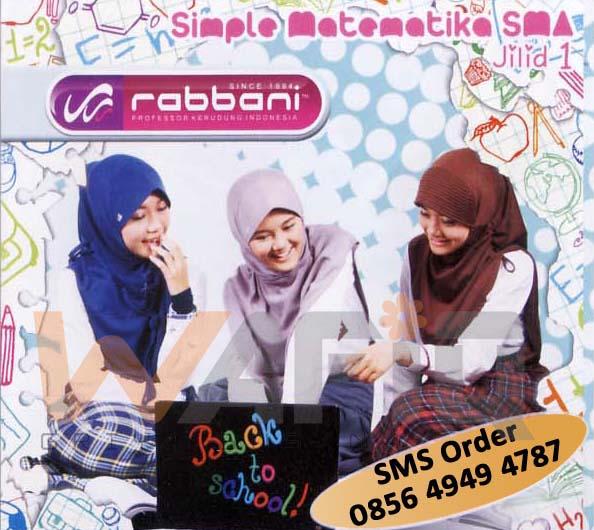 anak sekolah kerudung cantik murah hijab rabbani untuk ke sekolah