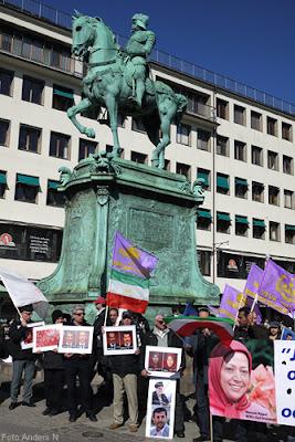 demonstration, iran, kungsportsplatsen, göteborg, foto anders n