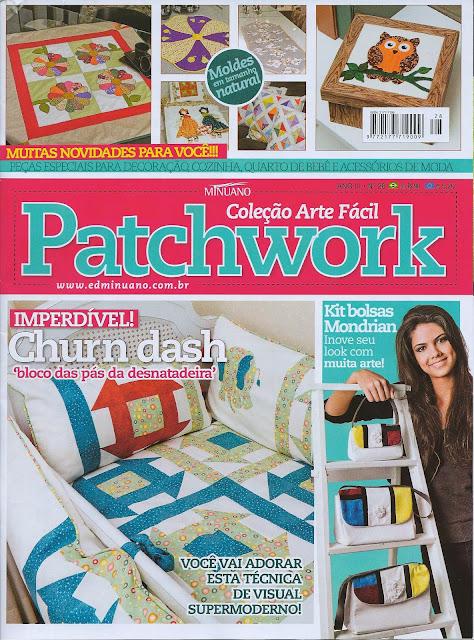 Kit de três bolsas em patchwork Mondrian, Maria Adna Ateliê, Maria Adna, Bolsas Patchwork, Bolsas patchwork publicadas revista