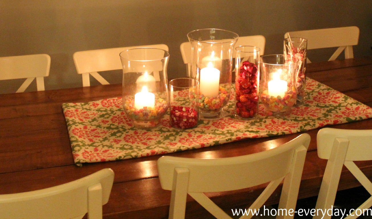 Flowers Candy and Books Valentines Dining Table Decor  : Valentine2527s5 from www.home-everyday.com size 1307 x 770 jpeg 249kB