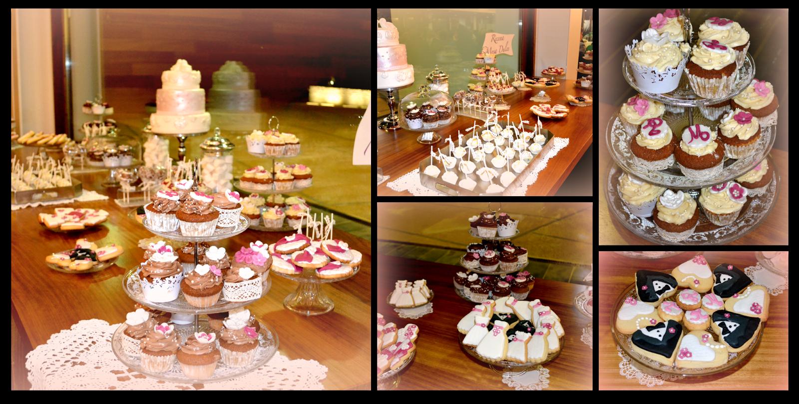 mesa dulce de boda vintage