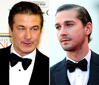 Alec Baldwin and Shia LaBeouf