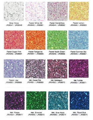 Josy Rose Glitter Fabric