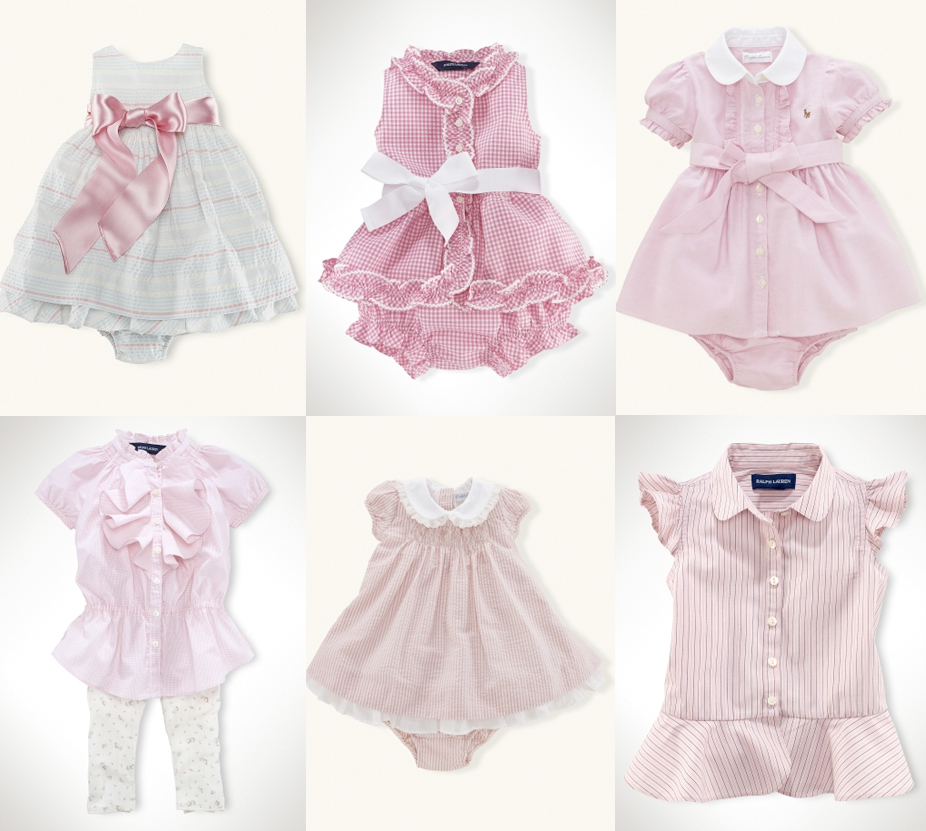 Electric Raspberry: Ralph Lauren baby clothes