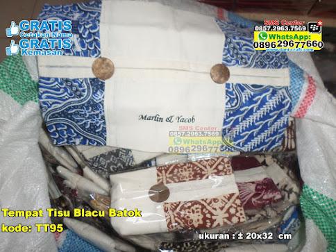 Tempat Tisu Blacu Batok jual