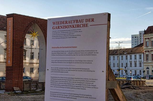 Baustelle Potsdam, Wiederaufbau der Garnisonskirche, Breite Straße 7 / Dortustraße, 14467 Potsdam,  11.01.2014