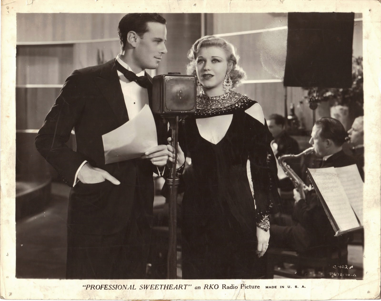 Ginger Rogers Professional Sweetheart 1933 movieloversrevews.filminspector.com