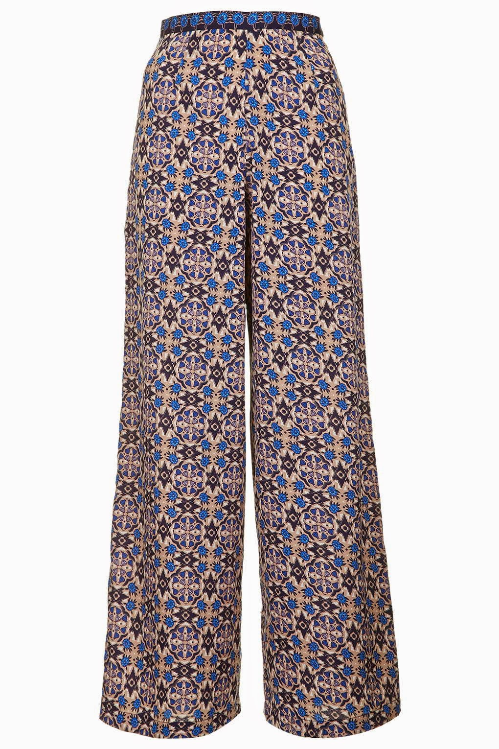 patterned wide leg trousers topshop, topshop wide leg trousers,