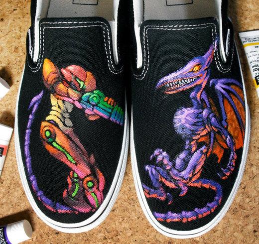Metroid shoes por K-6