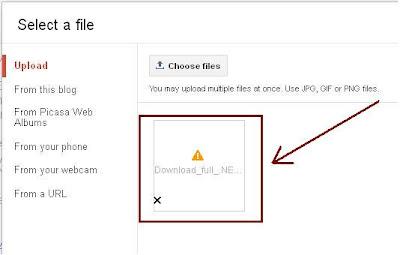 Blog Image Upload Error: Server returned invalid response
