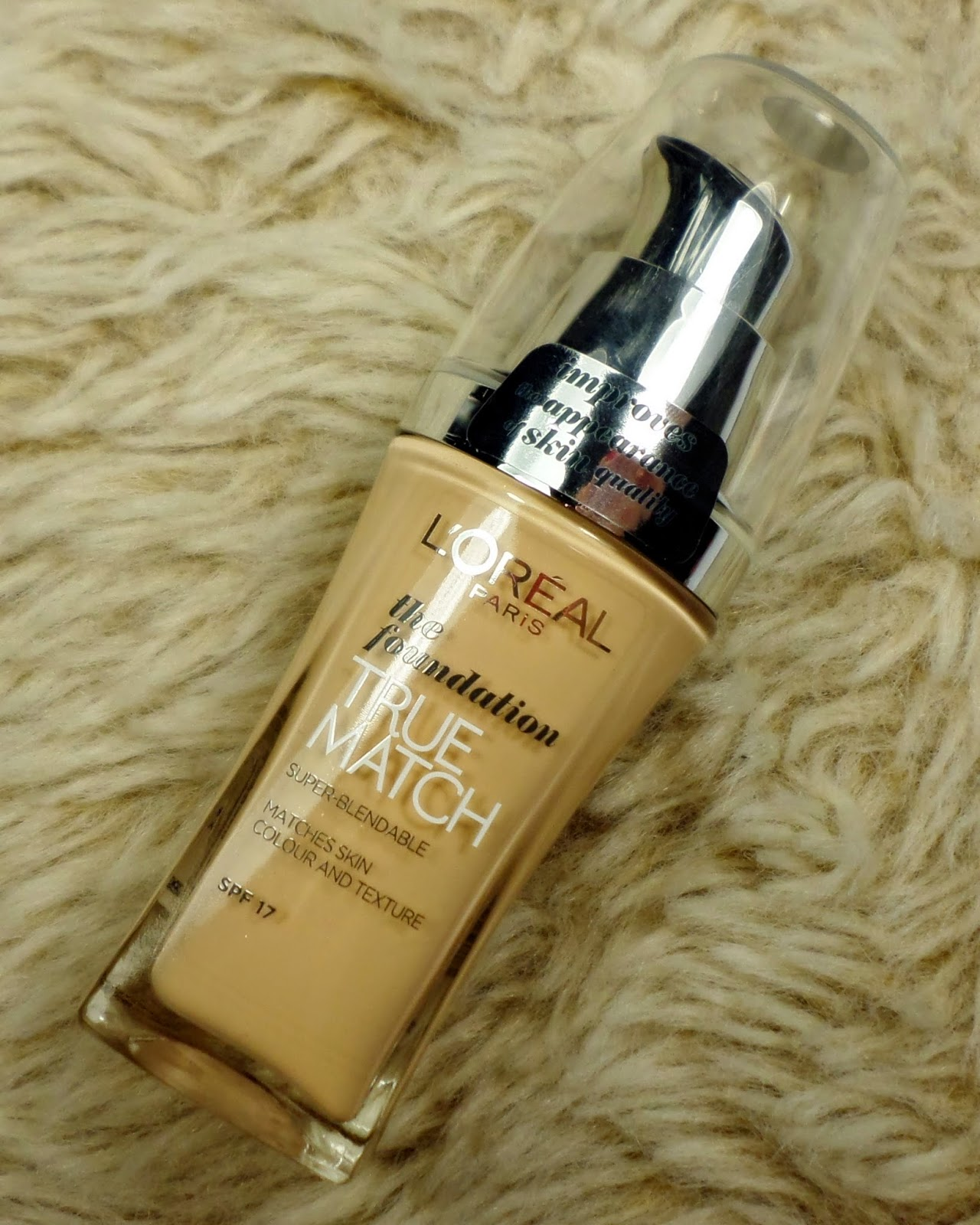 L'Oreal True Match Foundation in N1 Ivory
