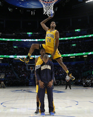 Paul George Dunk Shot