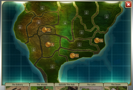 Hunger Games Lessons: An Official Map of Panem...Well, Partially, Anyway