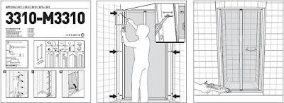 Fabrihogar crea como medir e instalar tu mampara de ba o - Montaje mampara ducha ...