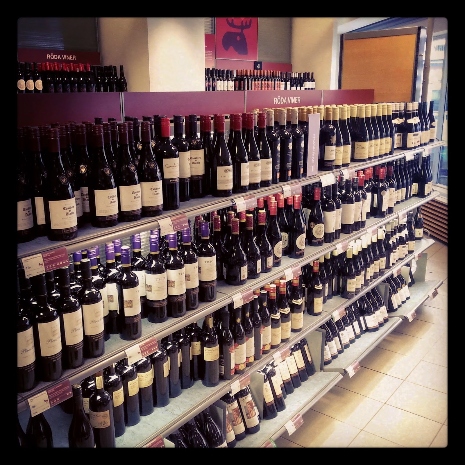 system bolaget aneb jediný obchod s alkoholom