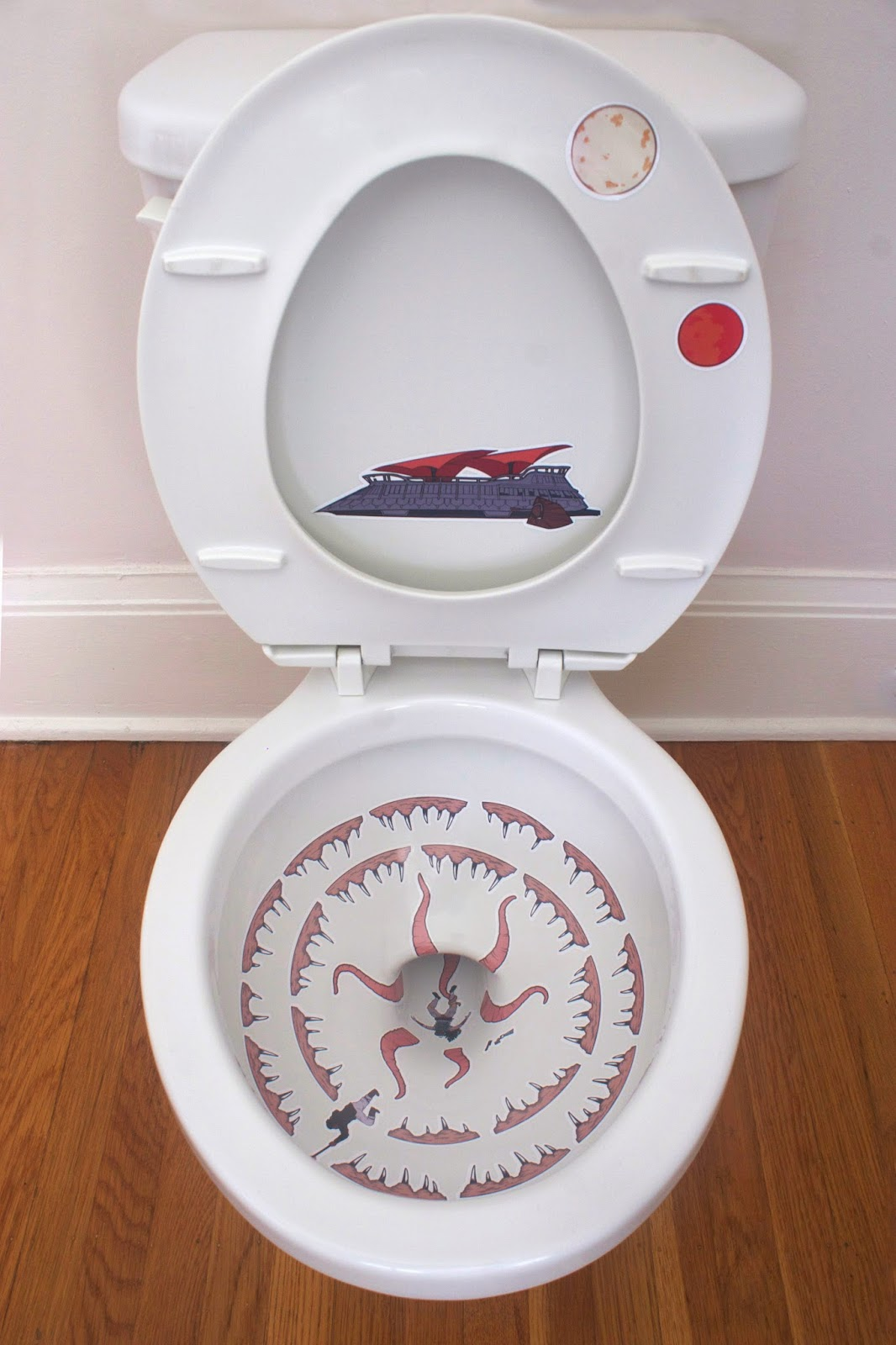 Mika Rane: Toilet Sarlacc