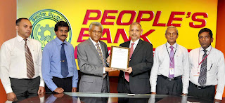 People's Bank Receives ISO Certification