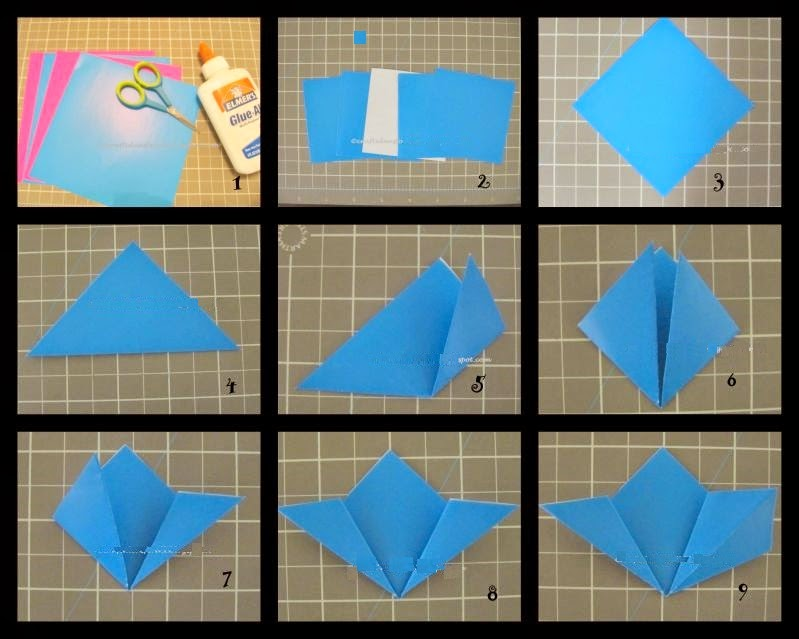 Paper crafts origami for kids how to make an origami kusudama flower how to make an origami kusudama flower mightylinksfo