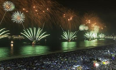 Perayaan Tahun Baru 2012 di Brazil