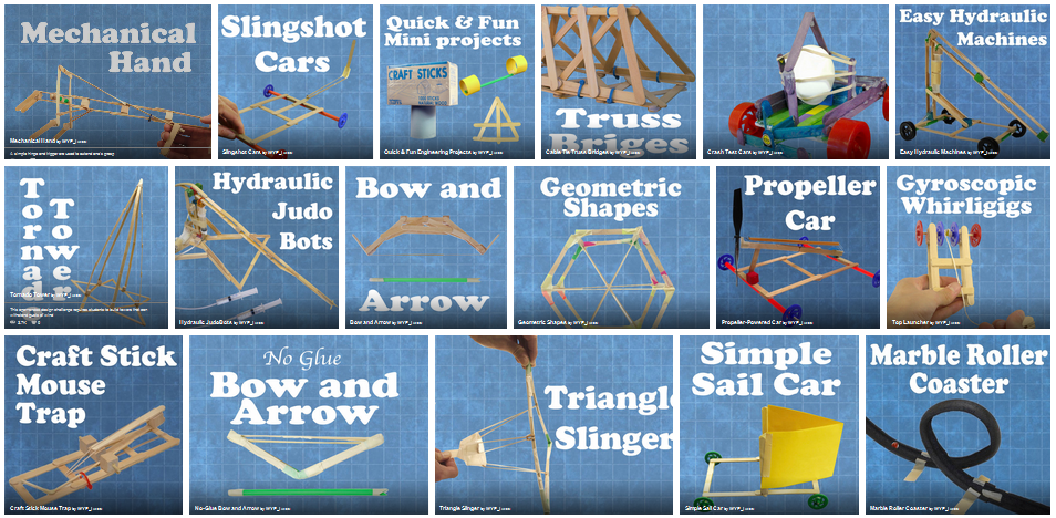 http://www.instructables.com/id/Project-Based-Engineering-for-Kids/