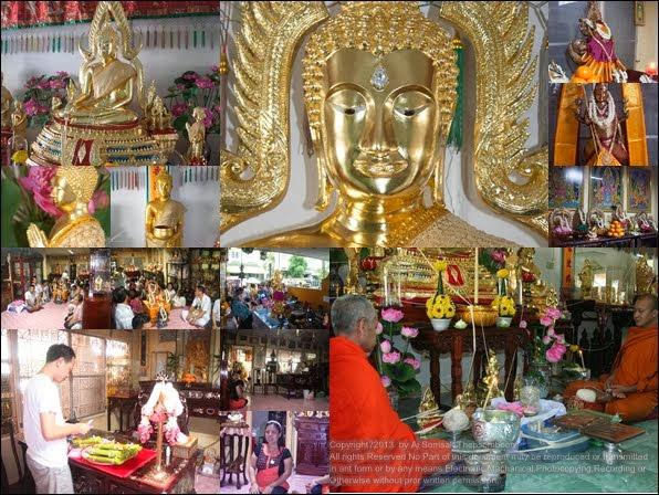 ภาพพิธีพุทธาภิเษก พระพุทธชินราชจำลอง หน้าตัก 30 นิ้ว 10 ตุลาคม 56