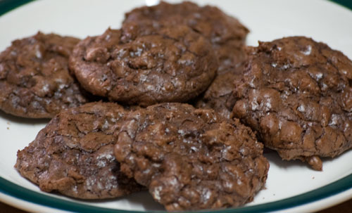 Yeah, I'd Bake That: Day 5: Chocolate Chunk Brownie Cookies