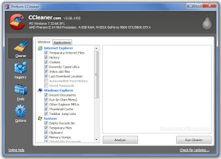 ������ CCleaner 3.14.1616 ������ ������� ������� ������ ���������� ���� �������