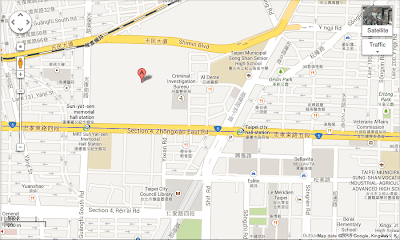 Songshan Cultural and Creative Park map