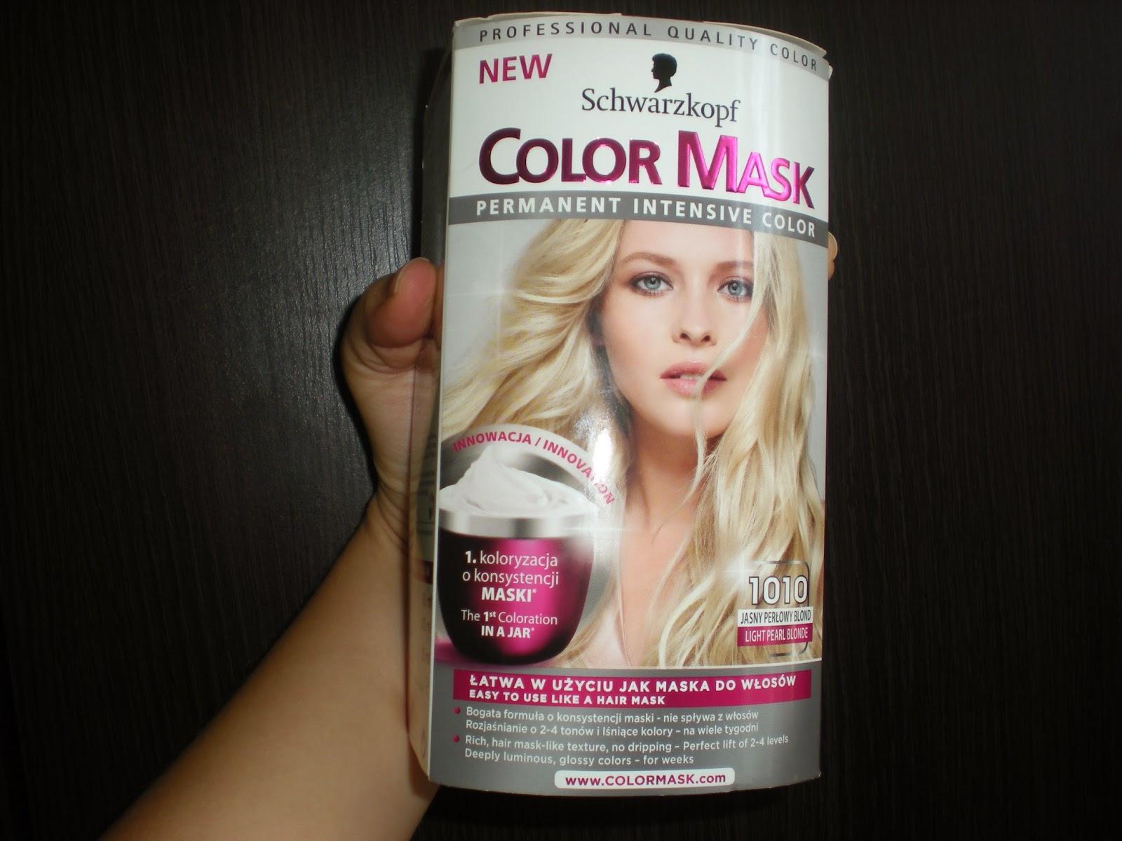 Recenzja: Color Mask 1010 od Schwarzkopf!