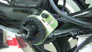 Montaje del sensor de pedaleo  PAS SANY0240
