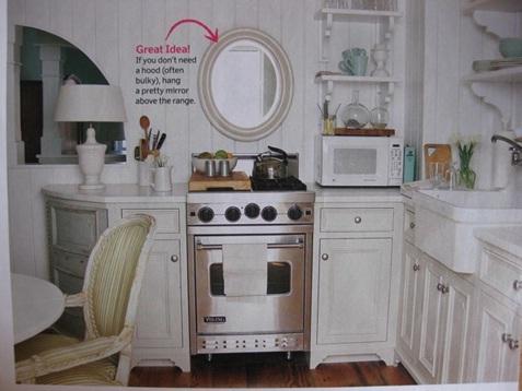 Decora y disena 10 ideas para decorar la cocina con espejos for Ideas para decorar un espejo grande