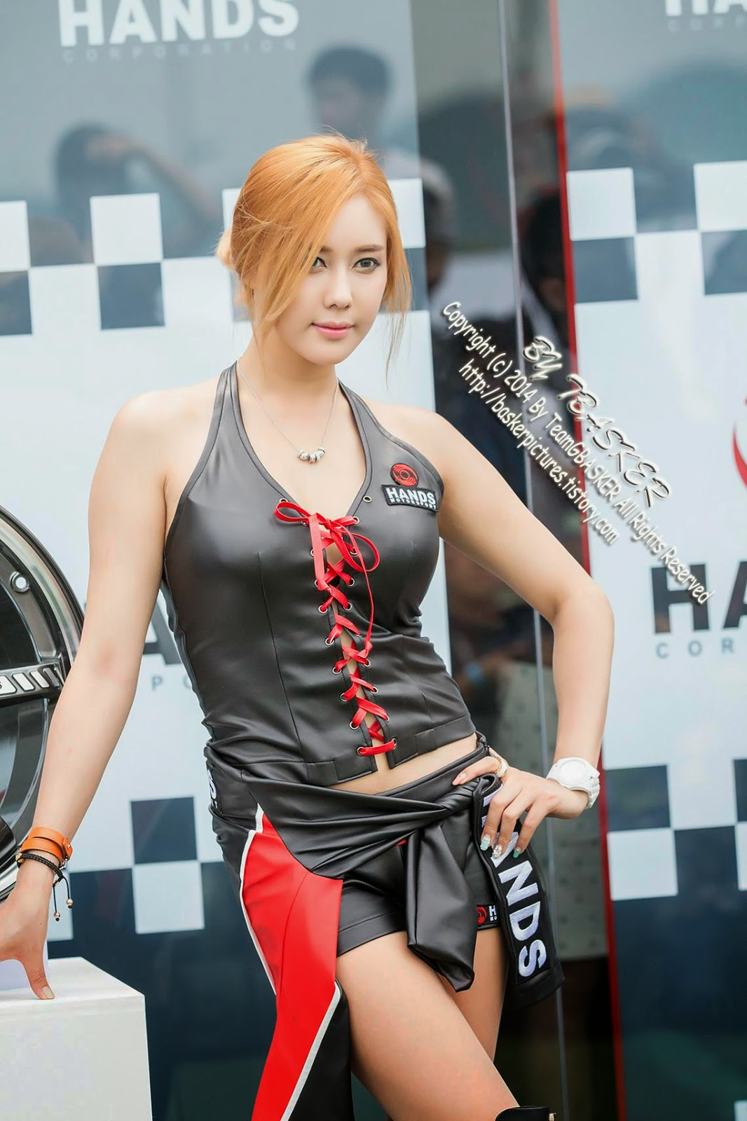 5 Kim Ha Yul - Korea Speed Festival 2014 - very cute asian girl-girlcute4u.blogspot.com
