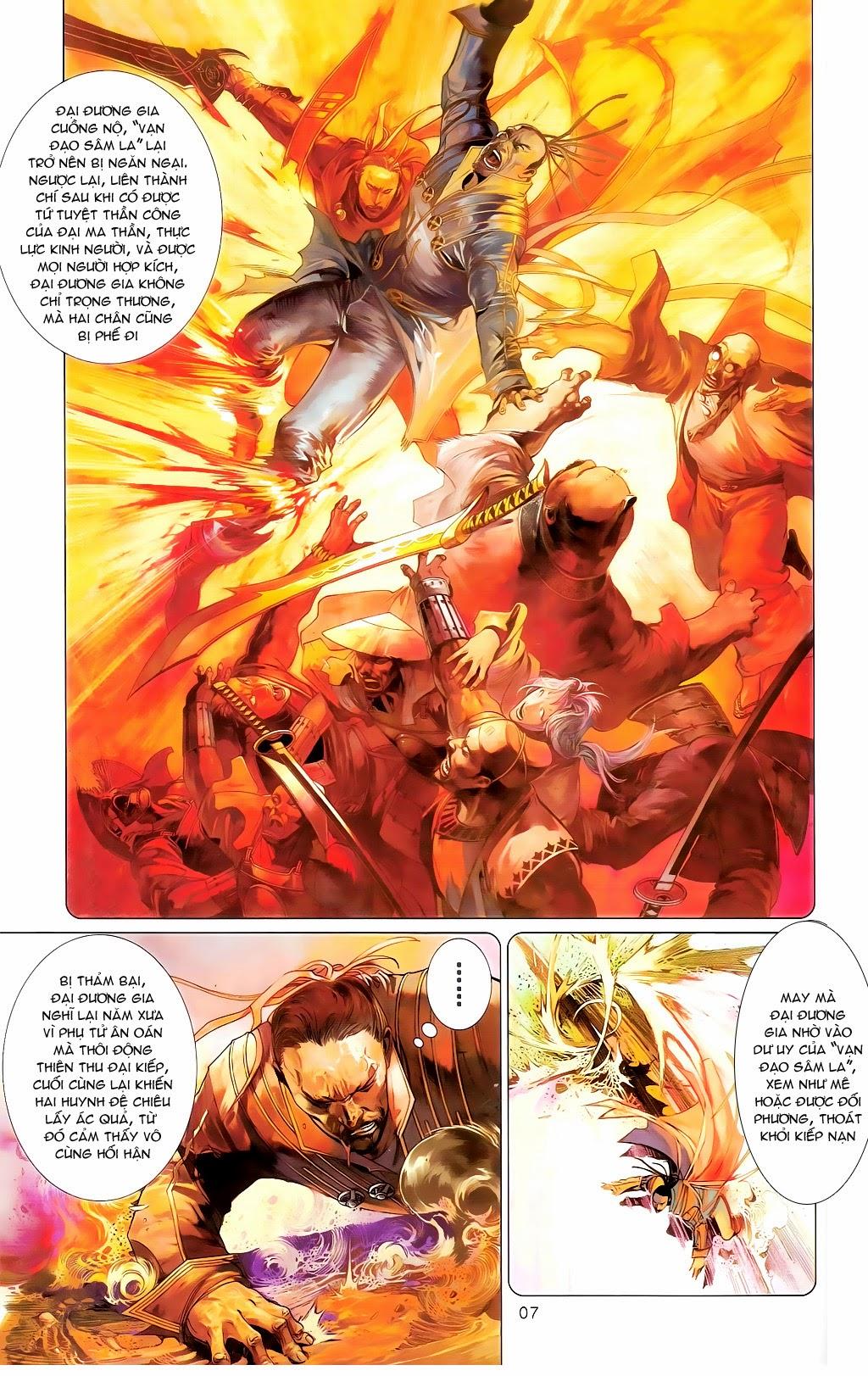 Phong Vân Chap 665 - Trang 6
