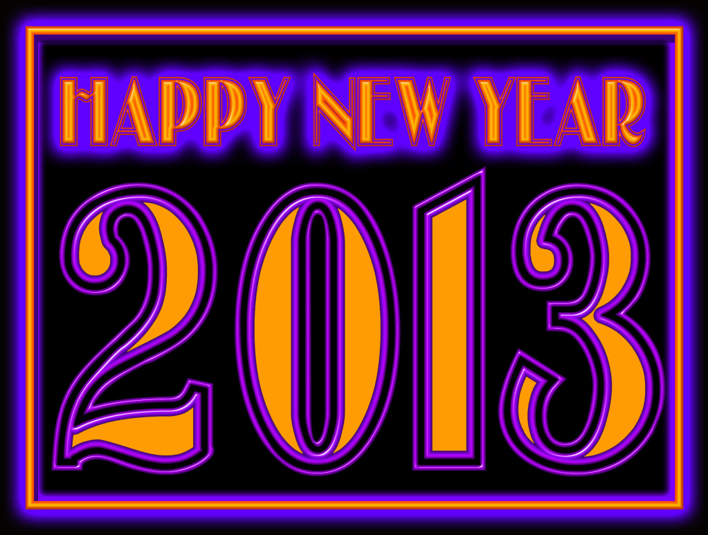 January 2013 Clipart New year wishes. in this world
