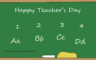 Happy Teachers Day 2013 Wallpapers