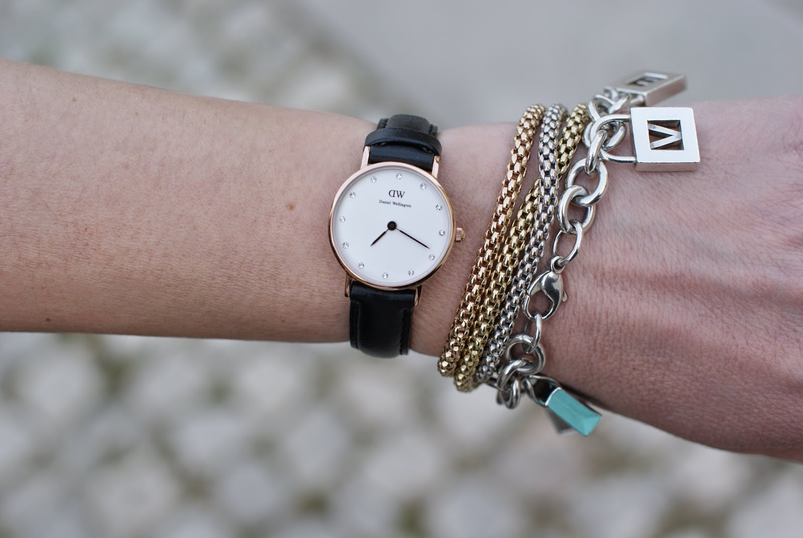 Daniel Wellington classy sheffield watch, Fope bracelets, Tiffany charms, Fashion and Cookies, fashion blogger