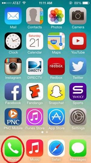 Cách chặn cuộc gọi trên iPhone chạy iOS 7