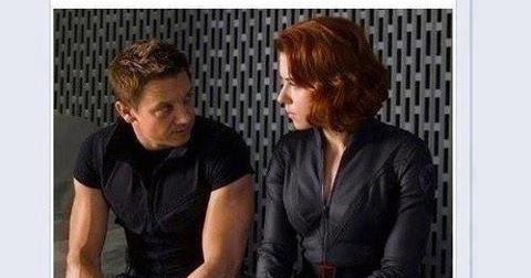 what is the relationship between hawkeye and black widow