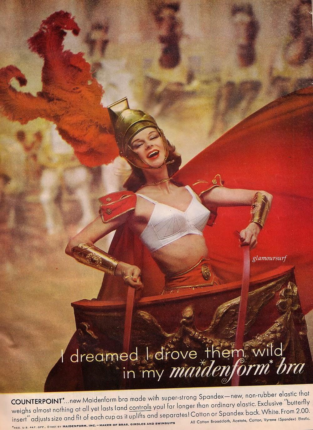 "Vintage Maidenform Bra Ad Photo Print 14 x 11/"""