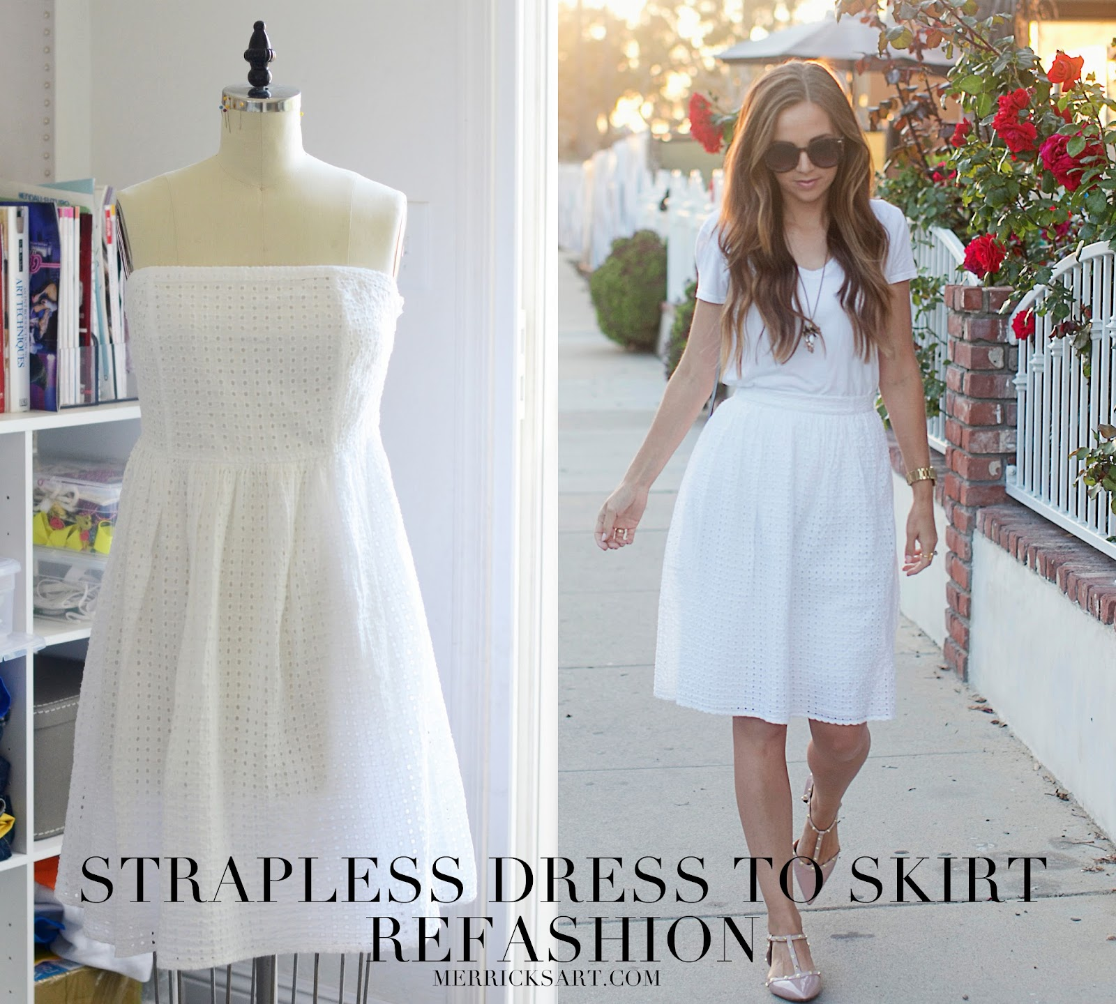 How To Make A Strapless Dress - Dress Xy