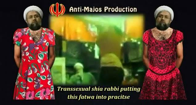 Fatwa Syiah Banci Berpakaian Wanita