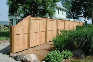 Деревянный забор. Фото 59