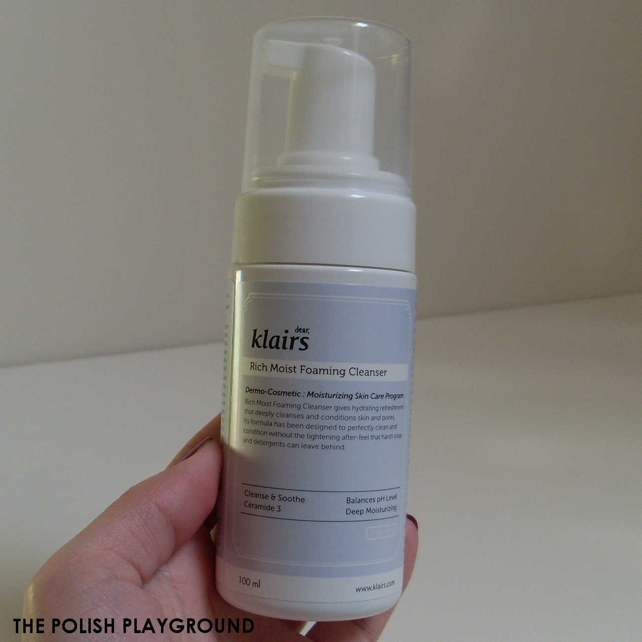 Klairs Rich Moist Foaming Cleanser Review